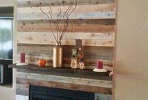 houten wanden