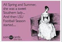 Geaux Tigers / by Rebecca-Summer Sexson
