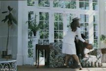 "Linda Marlowe beating men / Linda Marlowe as a tough private detective in the movie ""Big Zapper"""