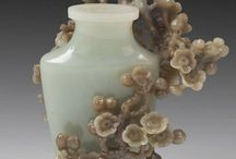 Jade carvings and ornaments