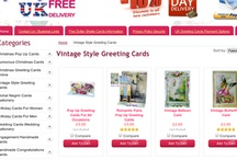 Vintage Style Greeting Cards / by Handmade Greeting Cards Online UK