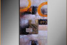 Картины Абстракция / Картины жанр Абстракция. Шедевры и произведения художников