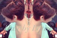 Short and sassy hair / by Ceslie Stonestreet