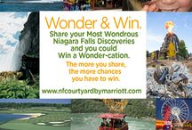 Wonder & Win Contest / Enter for your chance to win a wonder-cation. The more you share, the more chances you have to win. / by Niagara Falls Courtyard