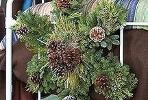x mass wreath