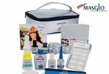 KITS MASGLO / Kits de productos Masglo. Esmaltado semipermanente B-Gel, Acrílico, Gel, Pinceladas, Pedicura, Clasificadores...