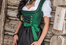 Drindl - Dirndl - Bavarian - Bajor