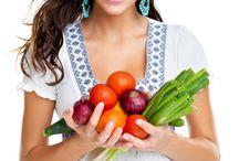 girl+vegetables