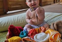 Infant & Toddler Learning / Games, environment, activities, toys, etc. to develop cognitive and motor skills in the youngest.
