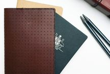 VOYAGER.PASSPORT / Personalise your adventures with The Voyager Travel Companion.  A perforated, leather passport wallet for all your travel documents.