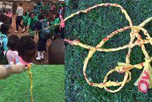 low cost learning materials (Zambia) / De community schools in Zambia hebben niet veel middelen om kwaliteitsvol onderwijs te bieden aan hun kleuters en lagere schoolkinderen. Daarom zijn ze heel creatief met wegwerpmaterialen. Vlaamse studenten gingen hen ondersteunen bij de ontwikkeling er van. Ontdek hier het resultaat.   Dit bord maakt deel uit van het eNSPIRED-programma van VVOB. Via onderwijspraktijken uit het Zuiden inspireren we over hoe omgaan met diversiteit in Vlaanderen anders kan.  Meer weten? Bezoek www.enspired.net.