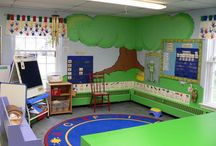 Preschool Room Decor Ideas / by Ami Shirley