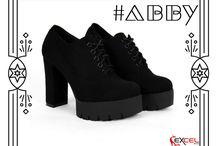 #Abby 630 Ankle boots || Μαύρο 42€