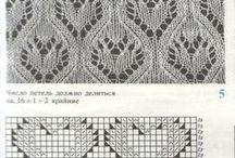 Vzory pletení - háčkování