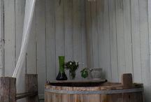 vasche di legno