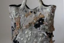 Сумки / Сумки из войлока, текстильные, интересных форм и расцветок, сумки ручной работы