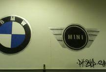 Paintings on walls - Ζωγραφιές σε τοίχους / Paintings and drawings on walls made by our team.  Ζωγραφιές και σχέδια σε τοίχους που έγιναν από την ομάδα μας.