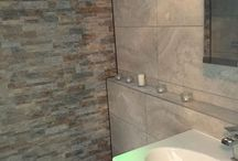 En suite / Adapt a shower room to wet room