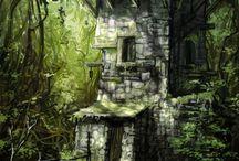 RPG Dungeon - Wald