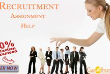 Recruitment Assignment Help For Australia-UK & US Students