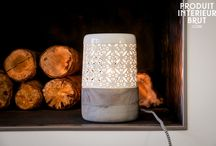Warm Accent Lighting / Beautiful lighting to add some warmth to your home during those cold winter days