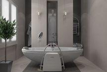 Дизайн ванных комнат / Декор ванных комнат