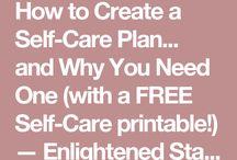 Crisis self care plans