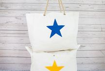 Upcycled Sailcloth Beach Bag with Pocket