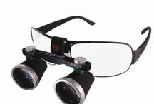 歯科用ルーペ / 歯科、耳鼻咽喉科等の検診に適用する3.5倍拡大鏡。左、右の部分を単独に調整できます。瞳距離と焦点は手で調整できます。高解像度、大視野、高い被写界深度で検査できます。
