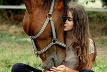 Portrait with horse