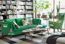 Casa Cool Sit / Decorating ideas for the living room and study / by Cee Behr