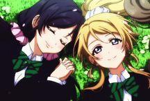 Nozomi x Eli