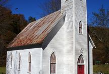 Country Churches / A look at Country and Rustic Churches