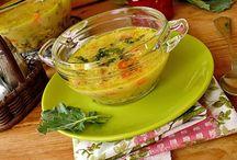Recipes in Hungarian - soup / Leves receptek magyarul