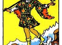 Tarot Rider Waite Major arcana / Om tarotkort