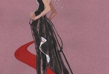 Fashions I've designed and illustrated