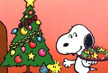 Christmas and Snoopy