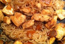 Vermicelles et plats asiatiques