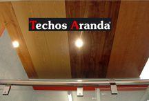 Techos / Techos Aranda fabrica diferentes tipos de techos metálicos decorativos. Siendo los techos de aluminio los modelos insignia de nuestra marca.