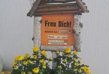 Richtfest/Hauseinweihung