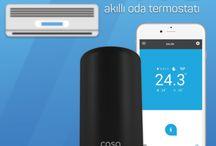Cosa 4 Dijital Akıllı Klima Kombi Oda Termostatları / Cosa 4 Dijital Akıllı Klima Kombi Oda Termostatları