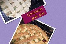 Chicken pot pie / Homemade Chicken pot pie.