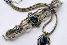 Tutorial ideas (bracelet) / Здесь самые разные идеи браслетов из бисера и камней.