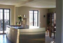 Parkett in Küche und Wohnen / Parkettreferenzen von Babschanik in Privathäusern
