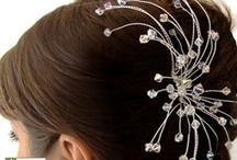 Veil Alternatives / Alternative veil head wear for your wedding day.