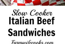 Beef Recipes / Easy main dish recipes beef recipes made in the crockpot or oven