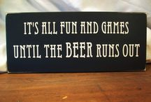 It's All Fun & Games / ... That is, until the beer runs out! Game ideas: for your party or ours.