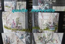 Broderie sur toile