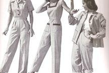 Свинг и мода на брюки и кеды; 40-е годы