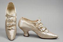 Vintage shoes & handbags